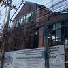 トンローの「SAPHAN55(サパン55)ストリートフードシェルター」建設中@バンコク
