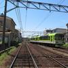 鉄道の日常風景32...叡山電鉄線路風景20190508