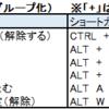Excelショートカット~必修編(フィルター・グループ化)~