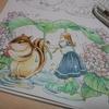 完成】リスと女の子のページ完成☆森の少女の物語より