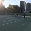2017.8.5&19靭テニスセンター土曜練習会