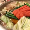 【ふるさと納税】福岡県宗像市の博多明太もつ鍋!野菜を買ってくるだけで気軽に楽しめる最高のもつ鍋♡
