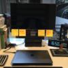 MacBook Airでデュアルディスプレイ(モニター2枚使い)