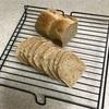 小麦胚芽パン、豆腐キャベツ丼とポテトポタージュ
