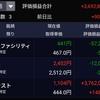 2019年7月19日時点の保有資産の状況。ソラストが1100円台をキープ。米国株は下落!
