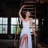 上海の廃墟でバレエ・ポートレート撮影会
