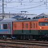 クモヤE995-1 ne@train「スマート電池くん」が長総(工場)へ