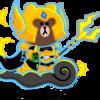 【ラインレンジャー】キングブラウンのステータス