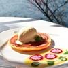 箱根 芦ノ湖畔のカフェ「サロン・ド・テ ロザージュ」で優雅な一時を過ごす(Salon de thé Rosage, Hakone)