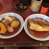 築地の「米花」で鯖味噌?、鶏とかぼちゃとさつまいもとキノコの煮物。