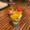 【PUFFPUFF】海が見えるカフェでトロピカルパフェ!!【沖縄 グルメ】