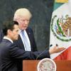 トランプ氏とメキシコ大統領、説明食い違い波紋