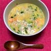 焼鮭と卵の雑炊