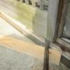 玄関引き違い建具の建て付け修理