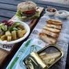 イタリアでハンバーガーとクラブサンドイッチを食す
