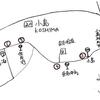 屋久島無印食品 その8 無人市ロードマップ No.20 小島 神さんと花々に心和む里