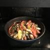 ヘルシオで作る夕ごはん⑤ウィンナーとパプリカのカレー粉炒め