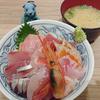 小田保で海鮮丼、そして向島ラン