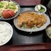 西川口の「あおき食堂」で豚ローススタミナ焼き定食を食べました★