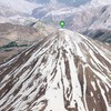 Let's look at Mount Damavand in Iran by satellite image.