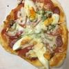 お昼に自宅でピザを