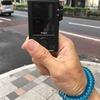 (アイデア勝負/小ネタ)スポーツ用デジカメストラップ Key mission 80