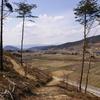 高崎の展望台から月山と葉山を眺めました