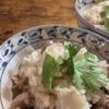 干しホタルイカと里芋の炊き込みご飯