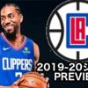 【2019-20チームレビュー】ロサンゼルス・クリッパーズ