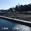 今週のRUNは善福寺川沿いの軍艦島まで
