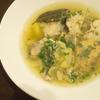 思い出の味を再現! クロアチアで食べた魚のスープ