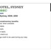 シャングリラ・ホテル・シドニー 宿泊記2 : アメックスのFHRと、部屋の紹介