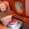 【搭乗記】エミレーツ航空ビジネスクラス ドバイ-成田 EK318