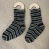 もう一足靴下を編みました
