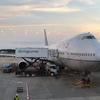 【UA】838便 NRT-SFO 744ビジネス