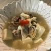 あさりと豆腐の和風スープペペロン♪