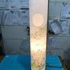 熊本 地震対策 火災対策 ローソク危ない 年中使える ランプシェード 盆提灯