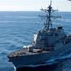 米駆逐艦とタンカー衝突 10人不明 マラッカ海峡