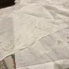 白糸刺繍始めました。