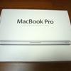 MacBook Pro買ったけど日記はDELLので書いてます
