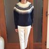 ノルディック柄セーターは年齢・流行を問わない長持ちニット