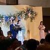 結婚披露宴に行ってきました。