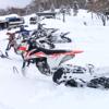 スノーバイクに乗った | KTM 450 SX-F | TIMBERSLED