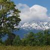 雪解けを待つ木曽御岳山
