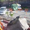 富士山の落石キャンピングカー直撃