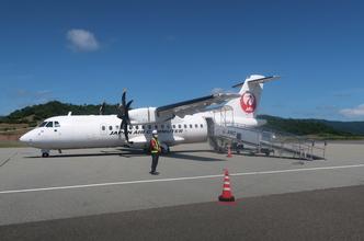 【JALダイナミックパッケージ但馬旅行】ホテルと復路JAC2322便搭乗