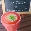 昨日のジュース「Melon in Tomato in Watermelon!!」
