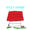 STAY HOME スヌーピー 【7/100】