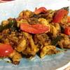 【インド料理レシピ】脳天直撃スパイシー、鶏肉の黒コショウ炒め