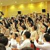 〈座談会 師弟誓願の大行進〉37 身近な友に「幸せの種」を蒔き広げよう 報恩の心で率先の拡大を! 2018年5月28日